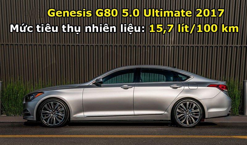Genesis G80 5.0 Ultimate 2017.