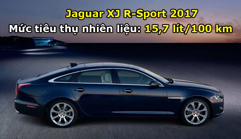 Jaguar XJ R-Sport 2017.
