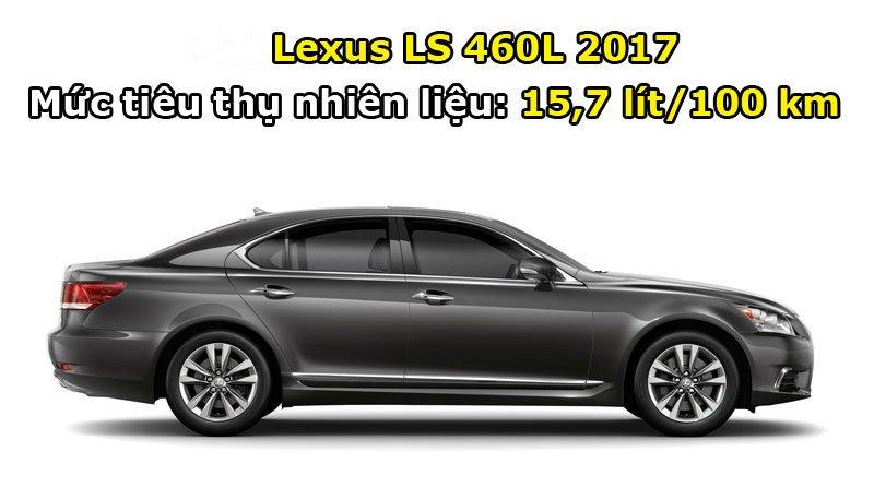 Lexus LS 460L 2017.