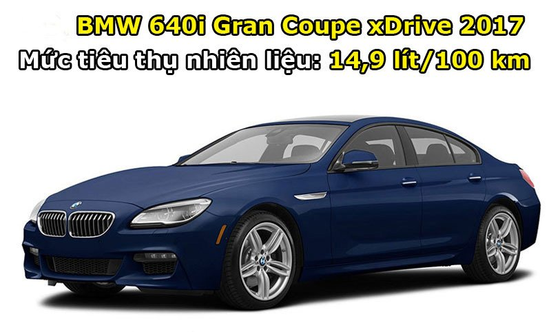 BMW 640i Gran Coupe xDrive 2017.