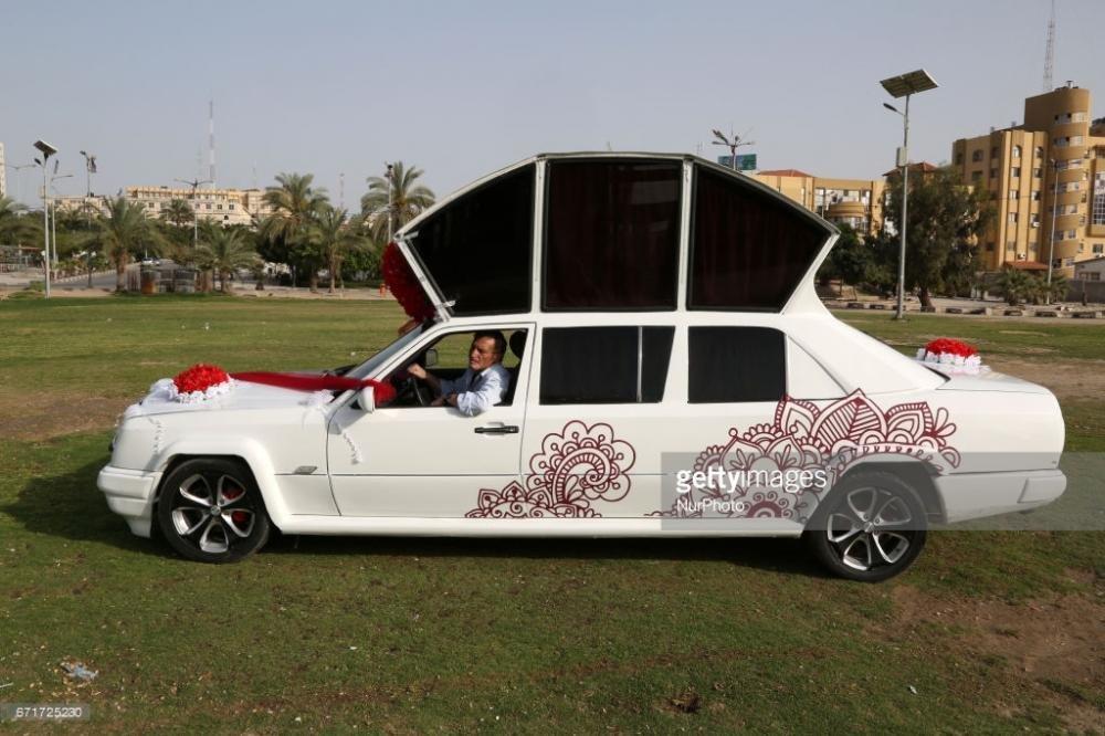 Chiếc limousine độ tại dải Gaza