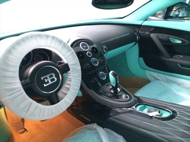 Ngắm Bugatti Veyron Tiffany Edition màu xanh ngọc độc nhất vô nhị 5