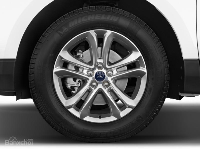 Đánh giá xe Ford Edge 2017: Mâm xe cỡ lớn.