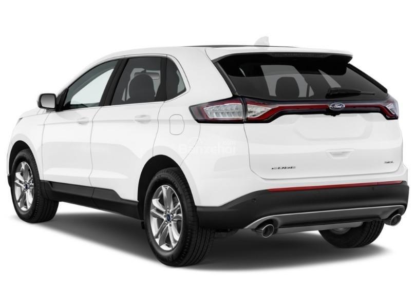 Đánh giá xe Ford Edge 2017: Đuôi xe có thiết kế tương tự phía trước.