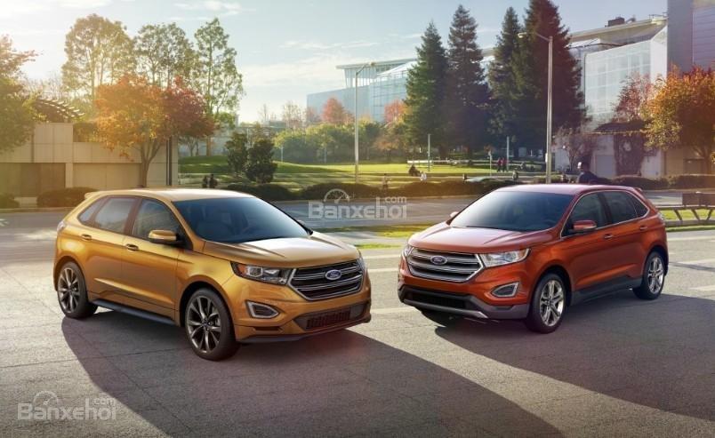 Đánh giá xe Ford Edge 2017: Mẫu xe 2 hàng ghế rộng rãi cho gia đình 5 thành viên.