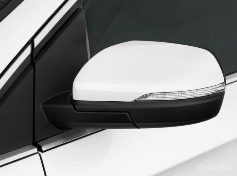 Đánh giá xe Ford Edge 2017: Gương chiếu hậu tích hợp LED.