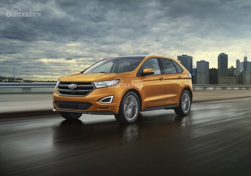 Đánh giá xe Ford Edge 2017: Mẫu xe 2 hàng ghế rộng rãi cho gia đình 5 thành viên,