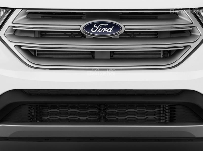 Đánh giá xe Ford Edge 2017: Lưới tản nhiệt đặc trưng của hãng.