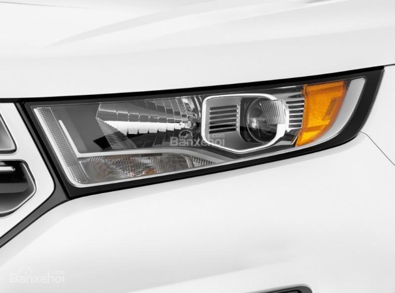 Đánh giá xe Ford Edge 2017: Đèn pha xe tích hợp LED.