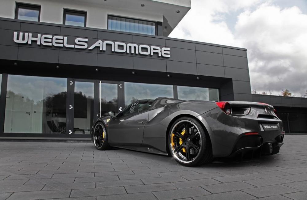 Bất ngờ Ferrari 488 GTS độ WheelsAndMore mạnh hơn cả McLaren 720 6