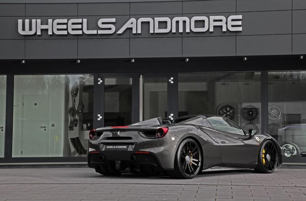 Bất ngờ Ferrari 488 GTS độ WheelsAndMore mạnh hơn cả McLaren 720 7