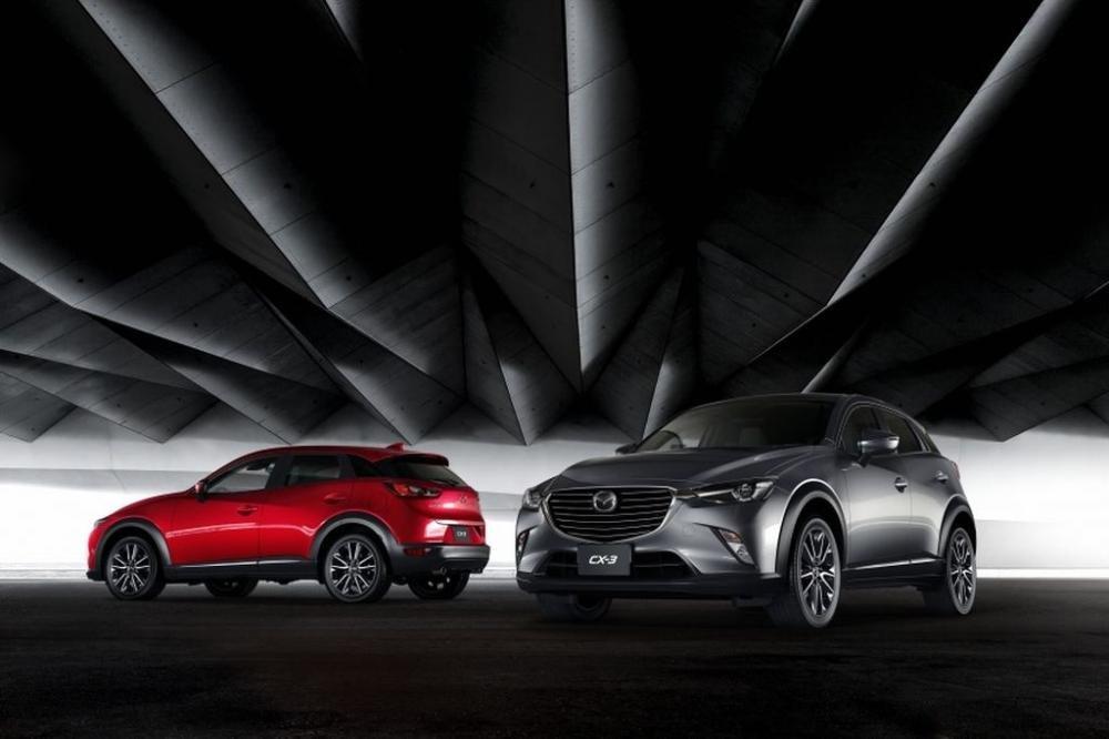 Mazda CX-3 2017 là một trong những chiếc SUV an toàn bậc nhất hiện nay.