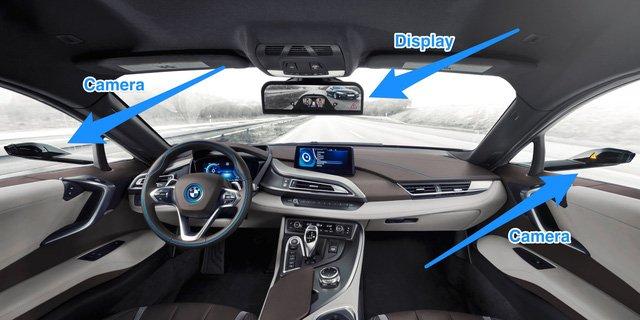 Nhật Bản cho phép lưu hành ô tô sử dụng camera thay cho gương chiếu hậu.