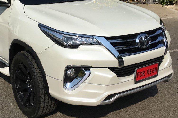"""Ngắm Toyota Fortuner 2017 lịch thiệp trong bodykit """"Fiar Design"""" tại Ấn Độ 7"""