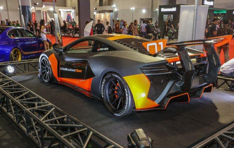 Dàn xe độ ấn tượng tại Triển lãm ô tô Indonesia.