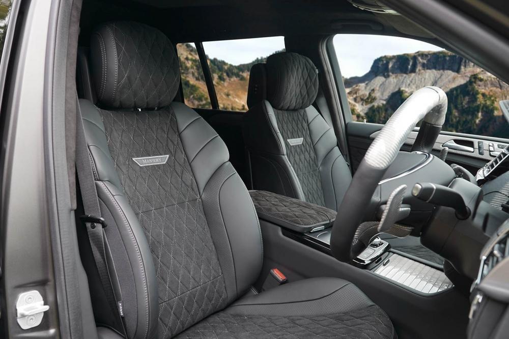 Ghế Mercedes-AMG GLS 63 độ Mansory.