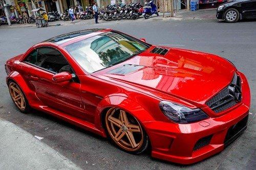 Mercedes SL55 AMG 1.