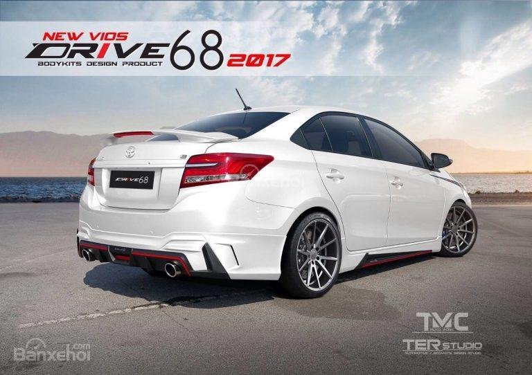 Toyota Vios 2017 có bộ body kit Ter Studio tại Thái Lan 1