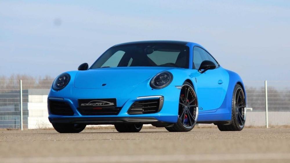 Porsche 911 Carrera S độ mạnh 450 mã lực nhờ tay SpeedArt 5