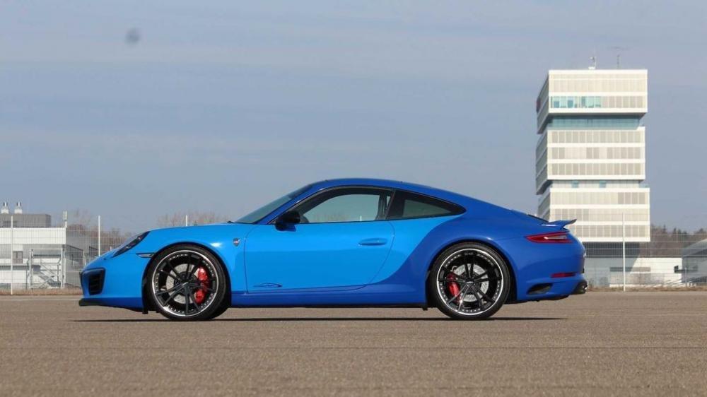 Porsche 911 Carrera S độ mạnh 450 mã lực nhờ tay SpeedArt 4