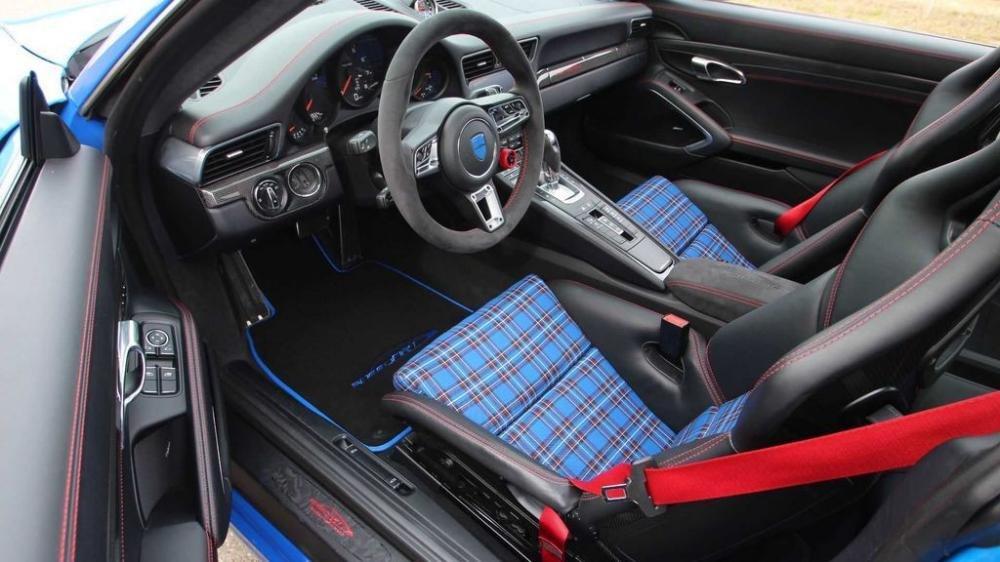 Porsche 911 Carrera S độ mạnh 450 mã lực nhờ tay SpeedArt 3