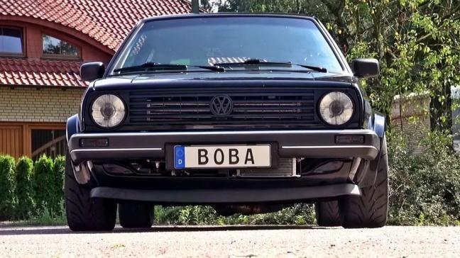 Boba-Motoring VW MK2 Golf.