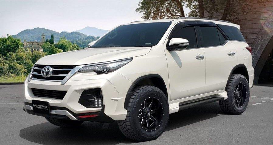 Hãng độ Thái Lan bổ sung bodykit ''''''''khủng'''''''' cho Toyota Fortuner.