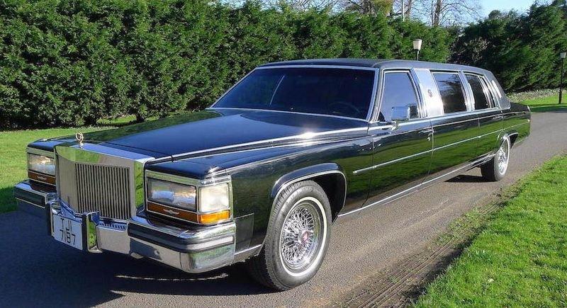 1988 Cadillac Trump Golden Series Limousine.