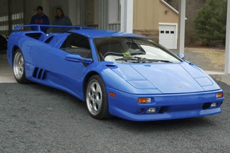 1997 Lamborghini Diablo VT Roadster.