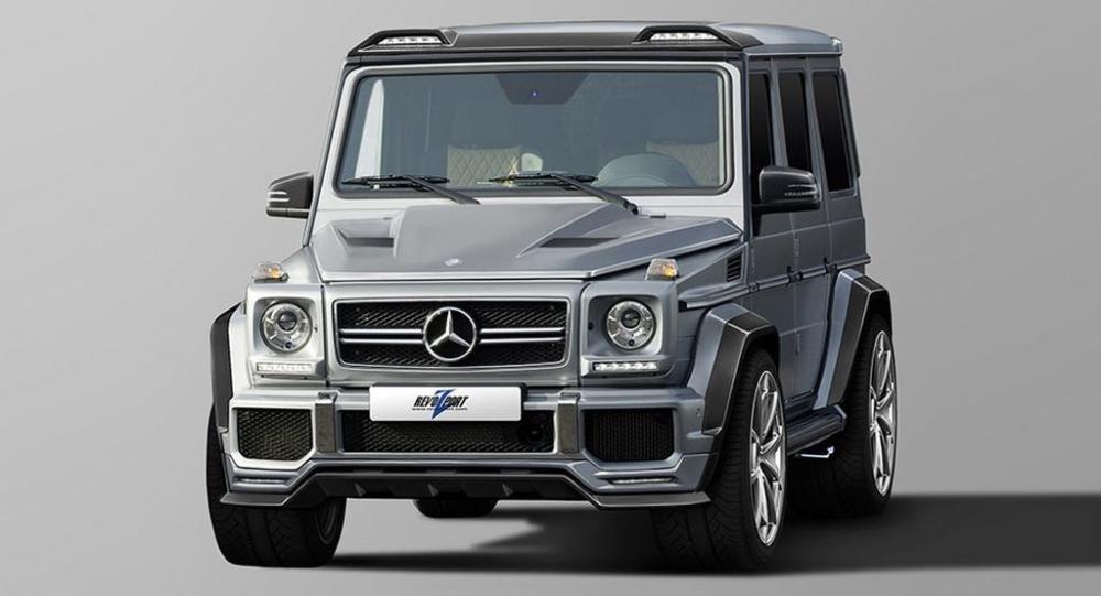 RevoZport tung bộ kit mới dành cho Mercedes-AMG G63 và G65