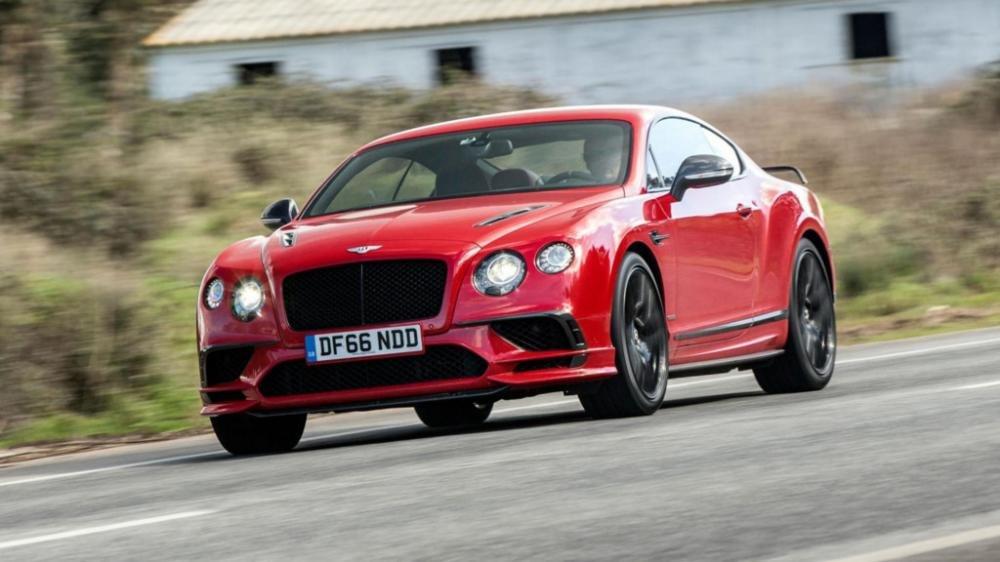 Bentley Continental GT Supersports.