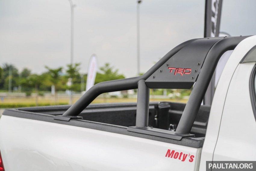 Thùng Toyota Hilux TRD