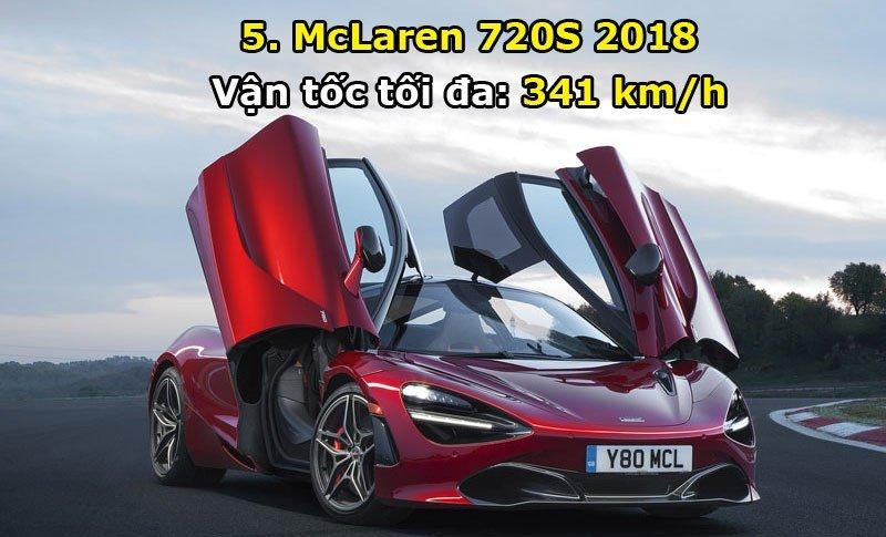 Khám phá 10 mẫu xe hơi nhanh nhất năm 2017 5