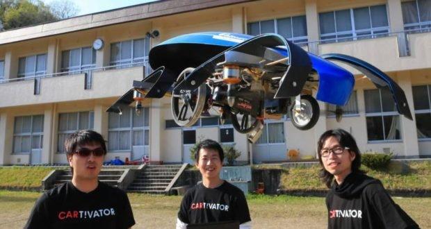 Toyota mạnh tay đầu tư 40 triệu Yên phát triển ô tô bay.