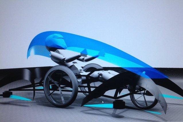 Mẫu xe ô tô bay đang được Cartivator phát triển.