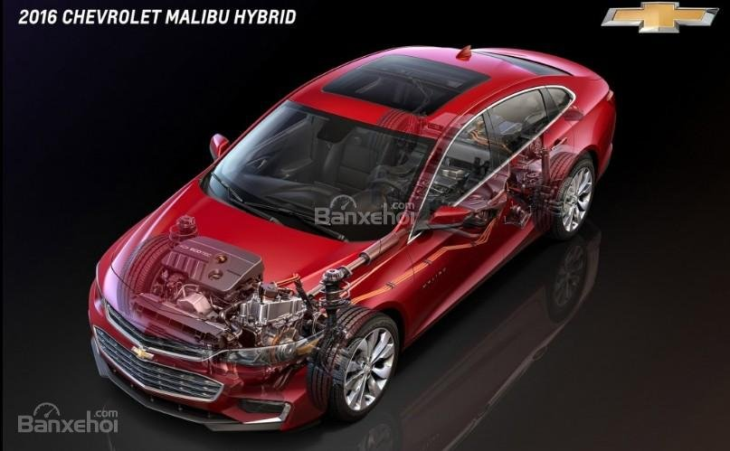 Đánh giá xe Chevrolet Malibu 2018: Phiên bản Malibu Hybrid.