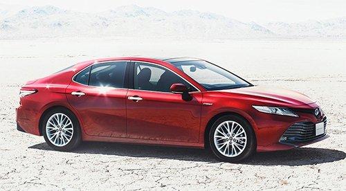 Toyota Camry thế hệ thứ 8 chuẩn bị được ra mắt thị trường Nhật Bản 1