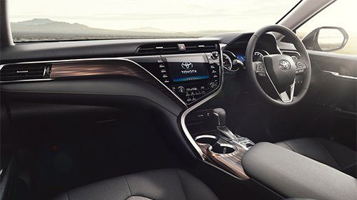 Toyota Camry thế hệ thứ 8 chuẩn bị được ra mắt thị trường Nhật Bản 3