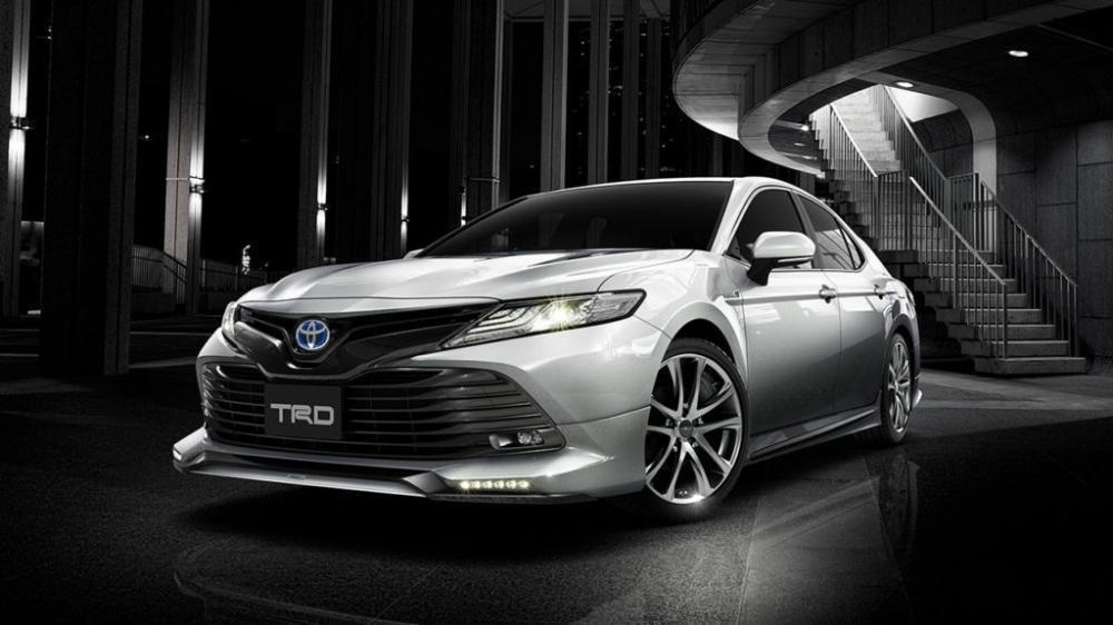 Đầu năm sau, Toyota Camry 2018 sẽ được bán ra trên toàn cầu 2