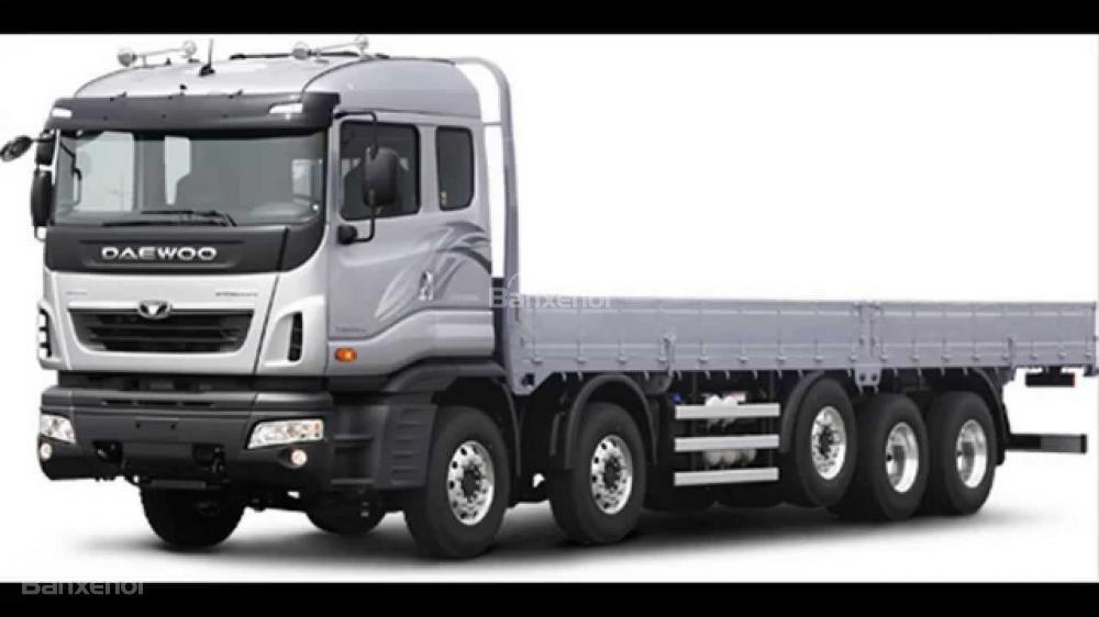 Bán xe Ben-Tải-Đầu Kéo-Trộn bê tông Daewoo nhập khẩu nguyên chiếc-giá tốt (2)