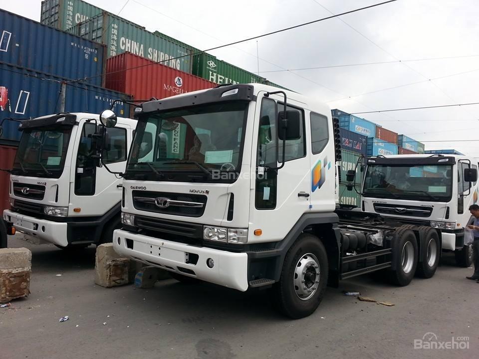 Bán xe Ben-Tải-Đầu Kéo-Trộn bê tông Daewoo nhập khẩu nguyên chiếc-giá tốt (5)