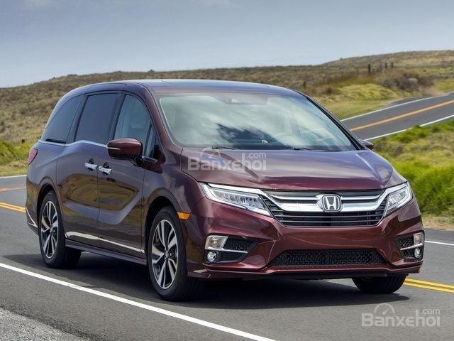 Đánh giá xe Honda Odyssey 2018: Mẫu xe được hãng xe Nhật đặc biệt trau chuốt.
