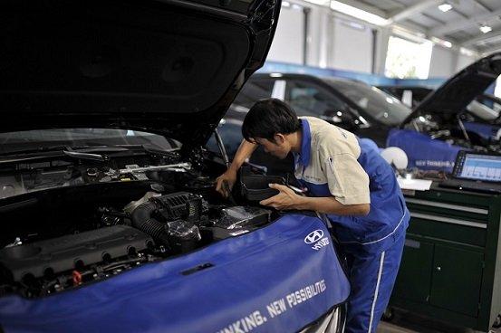 Kiểm tra ô tô miễn phí - Vi vu đón hè cùng Hyundai.