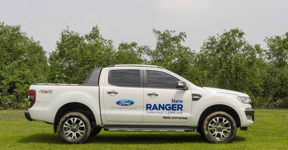 So sánh thân xe Chevrolet Colorado 2017 và Ford Ranger 2017 2