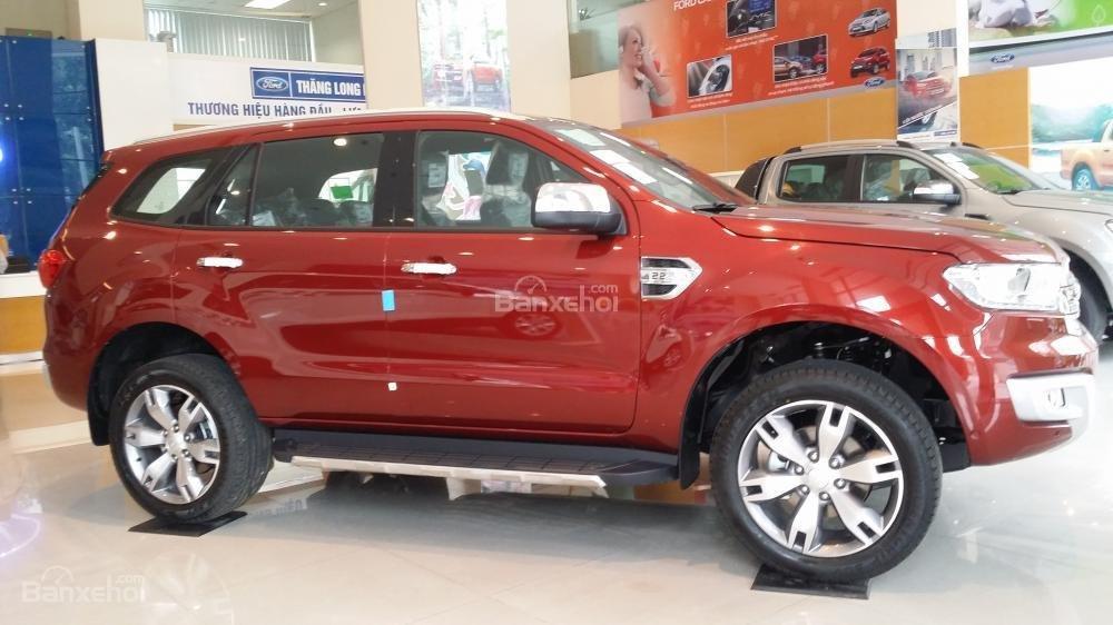 Bảng giá xe Ford Everest, tặng BHTV 61tr, phụ kiện, trả góp 85% LS thấp. Tel: 0919.263.586-1