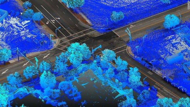 Xe tự động và cuộc chiến bản đồ trong tương lai.