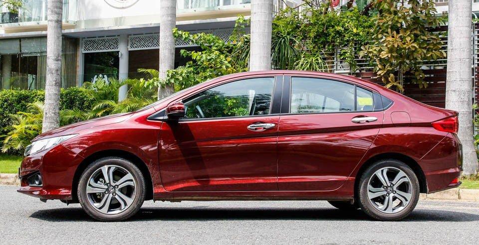 So sánh xe Honda City 2017 và Hyundai Accent 2017 về thân xe/