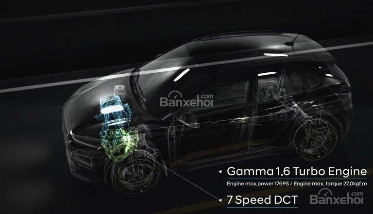 Đánh giá xe Hyundai Kona 2018: Xe được trang bị nhiều phiên bản động cơ.