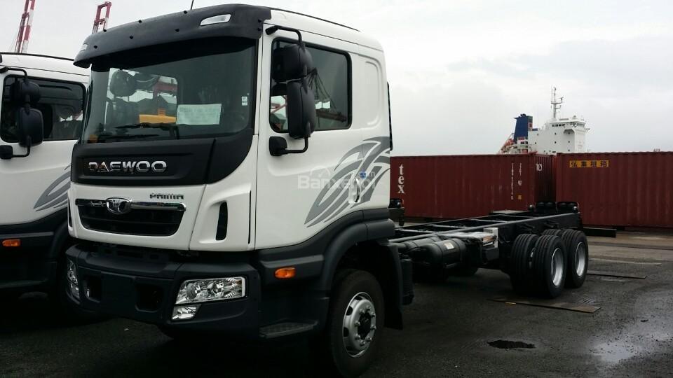 Bán xe Ben-Tải-Đầu Kéo-Trộn bê tông Daewoo nhập khẩu nguyên chiếc-giá tốt (7)