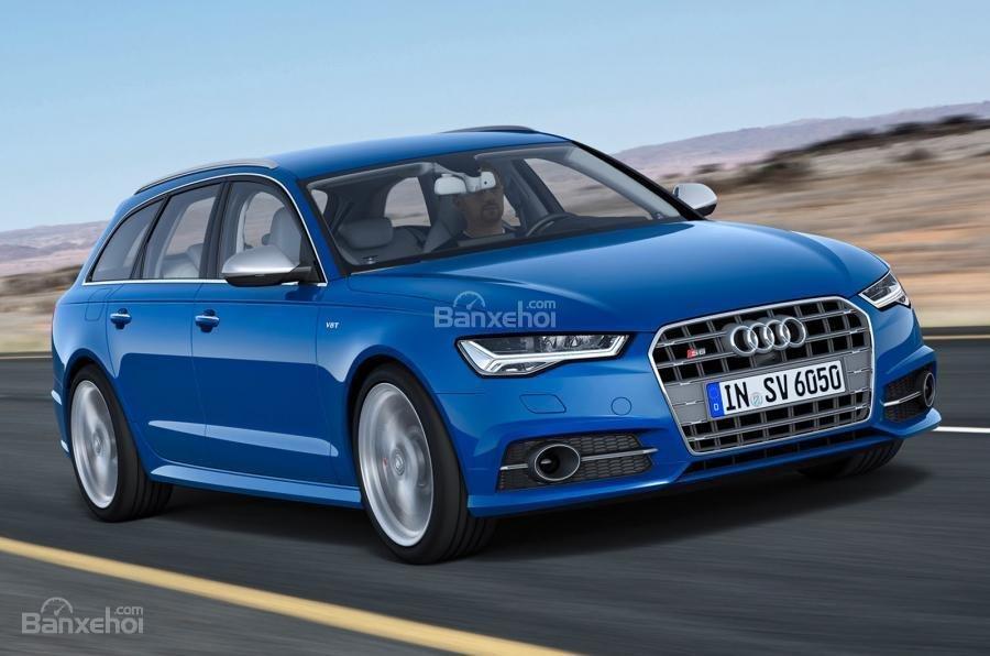 Đánh giá xe Audi S6 2017: Thiết kế đầu xe.